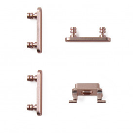 Pack of buttons (power, vibrator, mute) ROSE GOLD - iPhone 7
