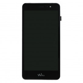 Complete Screen BLACK (Official) - Wiko Tommy 2