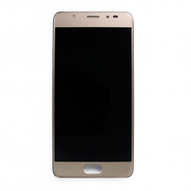 Complete screen SILVER & GOLD (Official) - Wiko U Feel Prime