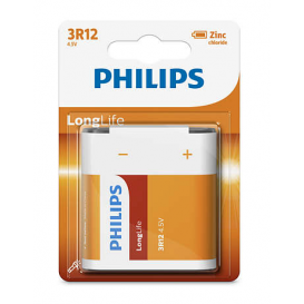 Pile LongLife 3R12 4,5V Philips
